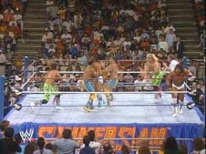 WWF-WWE_SummerSlam-1989_The-Rockers_Tito-Santana_vs_Rick-Martel_Fabulous-Rougeaus_