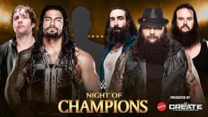 Reigns amp Ambrose vs. Wyatts 2